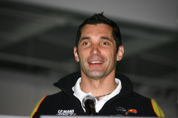 Max Papis, who will drive in the 92nd Indianapolis 500 for Rubicon Racing