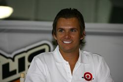 2005 Indianapolis 500 winner Dan Wheldon