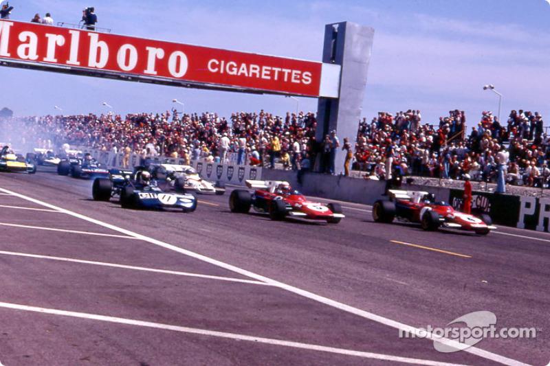 Stewart, Regazzoni, Ickx