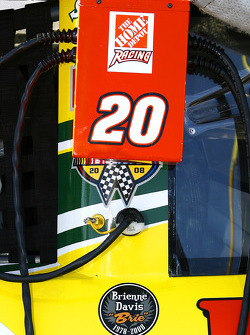 Tony Stewart's Subway Toyota with the Brienne Davis decal that was on all cars taking part in the Subway Fresh Fit 500 at PIR