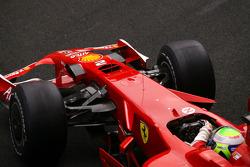 Felipe Massa, Scuderia Ferrari, with radical new front nose