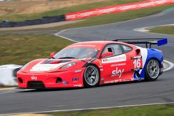 GT3 CR Scuderia Ferrari 430 exiting Scotsman