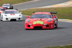 Christians in Motorsport Ferrari 430 leads from start