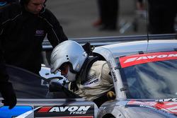 Godfrey Jones Ascari Team Eurotech Preci-Spark in pits