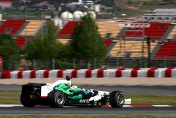Rubens Barrichello, Honda Racing F1 Team, on slicks