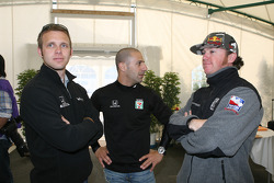 Honda Welcome Party: Ed Carpenter, Tony Kanaan and Buddy Rice