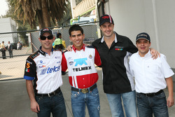 Ruben Pardo, Antonio Pérez, Michel Jourdain and Jose Luis Ramirez
