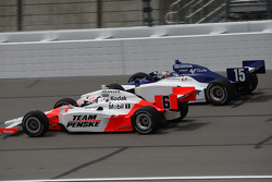 Ryan Briscoe and Buddy Rice