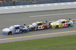 David Stremme, Brian Vickers and Bobby Labonte