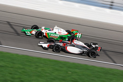 Tony Kanaan and A.J. Foyt IV
