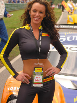 Gorgeous Pirelli girl