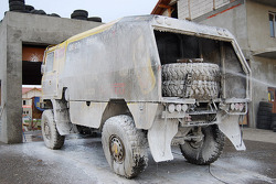 Tatra Team Loprais service area
