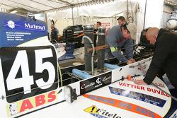 #45 Team Caroline: Bruno Langendoerfer, Michel Denis, Bruno Senard, Vincent Auvray