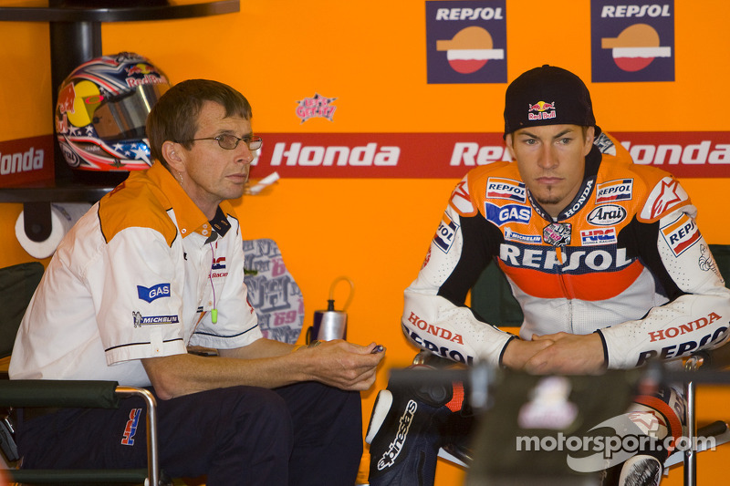 2008: Nicky Hayden Repsol Honda, MotoGP