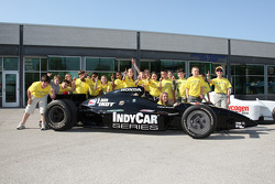 Grade school groups attended an History field trip to the Indianapolis Motor Speedway