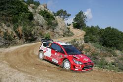 Urmo Aava and Kuldar Sikk, World Rally Team Estonia Citroen C4
