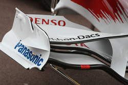 Toyota F1 Team, TF108, Front wing detail