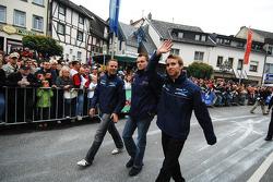 Marc Lieb, Marcel Tiemann and Timo Bernhard