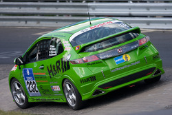 #232 Fleper Motorsport Honda Civic Type R: Peter Venn, Marcel Hoppe, Harald Thönnes, Herbert von Danwitz