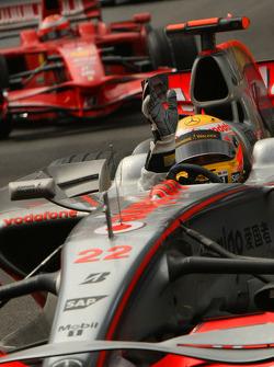 Winner, 1st, Lewis Hamilton, McLaren Mercedes, MP4-23
