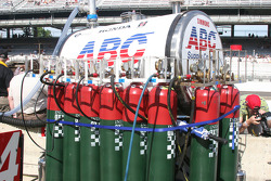 Air tanks are ready for race day