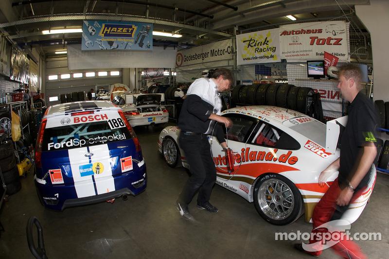 Garage activity