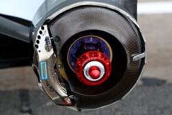 Renault F1 Team, R28, Brake Detail