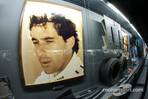 Formula One area: Ayrton Senna display