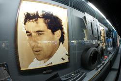 Formula One area: Ayrton Senna display
