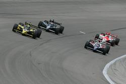 Tomas Scheckter, Vitor Meira, Dan Wheldon and Helio Castroneves