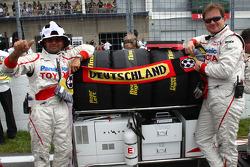 German Toyota F1 Team members