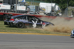 Playboy Racing's BMW M6: Mike Borkowski, Tommy Constantine takes a spin in corner 11