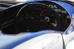 Buddy Rice's steering wheel