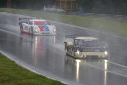 #61 AIM Autosport Ford Riley: Brian Frisselle, Mark Wilkins and #58 Brumos Porsche Riley: Darren Law, David Donohue