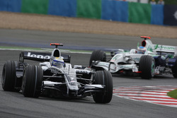 Nico Rosberg, WilliamsF1 Team, FW30 and Jenson Button, Honda Racing F1 Team, RA108