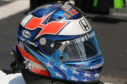 Ryan Hunter-Reay's helmet