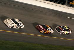 Brad Keselowski, Clint Bowyer and Dale Earnhardt Jr.