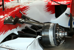 Front suspension arms of the Toyota