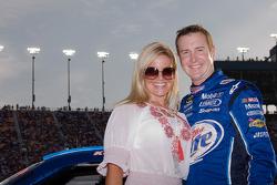Kurt Busch and wife Eva