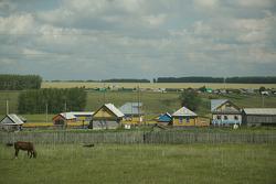 Scenery between Kazan and Yekaterinburg