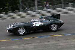 #55 Jaguar D Type 1955: Gary Pearson, Nigel Webb