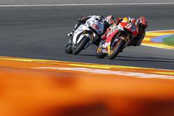 Марк Маркес, Repsol Honda Team и Ники Хейден, Aspar MotoGP Team