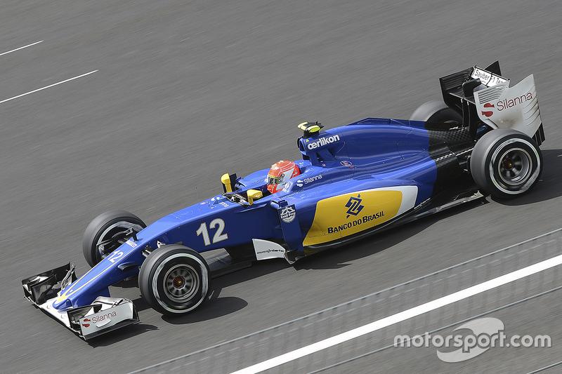 2015: Felipe Nasr, Sauber-Ferrari C34