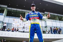 Rubén García Jr. Canel's Racing celebra en el Victory Line