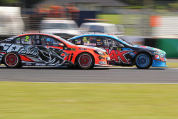 Mark Winterbottom, Prodrive Racing Australia, Ford; Garth Tander, Holden Racing Team