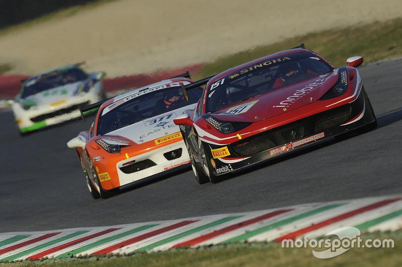 السيارة رقم 151 ستيلف سكوادرا كورس فيراري 458: توماس لوفلاد