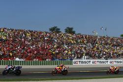 Jorge Lorenzo, Yamaha Factory Racing y Marc Márquez con Dani Pedrosa, Repsol Honda Team