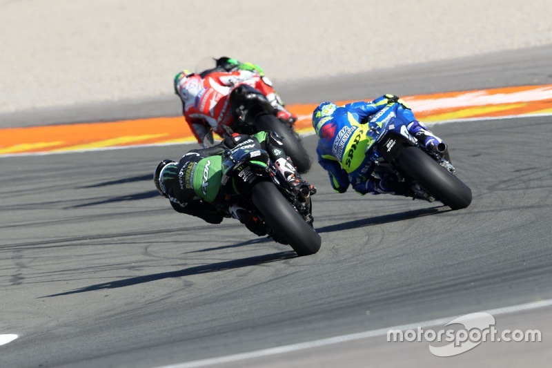 Pol Espargaro, Tech 3 Yamaha and Aleix Espargaro, Team Suzuki MotoGP