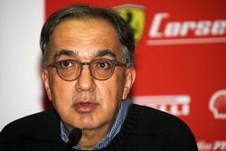 Conferenza stampa Finali Mondiali Ferrari: Sergio Marchionne, Presidente Ferrari e CEO Fiat Chrysler Automobiles