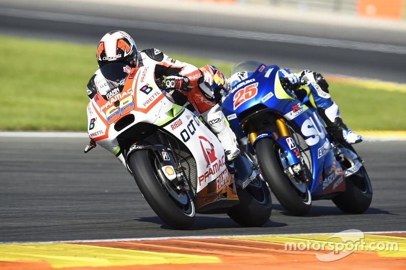 Йонні Ернандес, Pramac Racing Ducati та Маверік Віньялес, Team Suzuki MotoGP